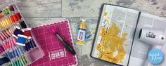 We R Memory Keepers Sew Easy Tutorial – Bible Art Journaling Challenge Week 23