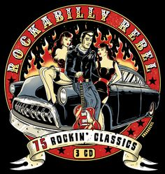 Rockabilly Rebel, CD cover design for Union Square Music, London