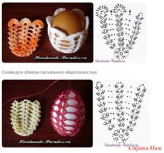 Crochet Egg Cozy, Easter Crochet, Crescent Rolls, Chrochet, Crochet Doilies, Easter Crafts, Happy Easter, Easter Eggs, Xmas