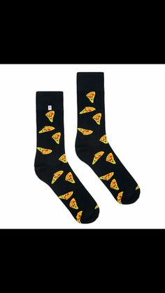 3cf6fc4e1f6 Pizza Socks, Colorful Socks, Sock Shoes, Gifts For Him, How To Wear