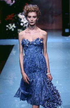 Olga Pantushenkova, Christian Dior by Gianfranco Ferre Spring 1996