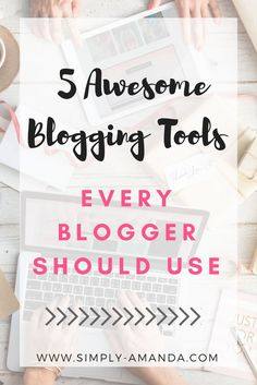 Click here to read about some of my favorite blogging tools I cannot live without!