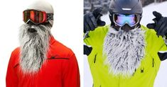 [TOPITRUC] Un masque de ski barbe de yeti Zz Top, Shopping, Beards, Gifts