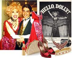 The Great Carol Channing! Carol Channing, Hello Dolly, Red Satin, Yves Saint Laurent, Kate Spade, The Incredibles, Art Work, Theater, Polyvore
