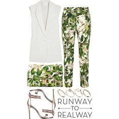 """""""Runway to Realway / Top set for Apr 19th, 2014"""" by majksister on Polyvore"""
