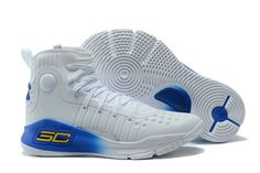 3f68e1b8f2d Buy Under Armour Stephen Curry 4 White Blue Basketball Shoe For Sale from  Reliable Under Armour Stephen Curry 4 White Blue Basketball Shoe For Sale  ...