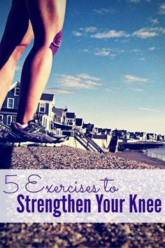 Are you suffering from a knee injury or recovering from one? Does your knee hurt when you run? During your next strength training workout, try these 5 exercises to strengthen your hips and glues - the key to stabilizing your knee for pain-free running! Zumba, Knee Strengthening Exercises, Exercises For Knee Injuries, Fun Exercises, Knee Stretches, Running Injuries, How To Strengthen Knees, Fitness Motivation, Marathon Motivation
