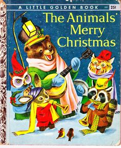 Mrs.T's Christmas Kitchen: Another vintage kids' book ~ The Animals' Merry Christmas