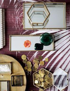 H&M Home : notre sélection déco à moins de 40 € - Elle Décoration Grand Vase En Verre, Vase Design, H & M Home, Decoration, Large Laundry Basket, Large Storage Baskets, Wire Baskets, Glass Boxes, Dekoration