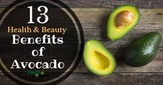 Avocados are quite an amazing fruit. Did you know that they are actually berries...not fruits! See 13 amazing health benefits of avocado that...