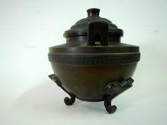 Vintage Japanese Incense Burner by RatRaceRelics on Etsy
