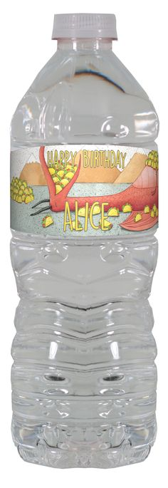 Dragons Love Tacos personalized water bottle labels – worldofpinatas.com