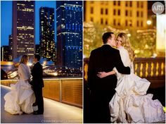 Wedding-Design-Art-Imagination-Chicago_0370Beautiful shot of the couple at this Chicago winter wedding