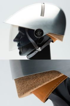 How would Philippe Starckreimagine the humble bike helmet? Start with a cork. Love this concept! Via http://www.core77.com/blog/accessory/say_hello_to_sarckbike_helmet_27618.asp