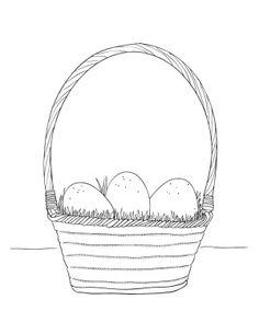 Easter Egg Basket