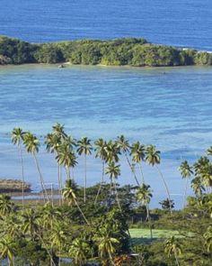 On Vanua Levu's southern shore, Koro Sun Resort overlooks the tranquil Koro Sea. #Jetsetter