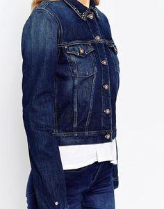 Image 3 ofHilfiger Denim Vivianne Denim Jacket