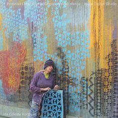 Primitivo Lace Stencil by Royal Design Studio