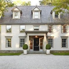 Colonial Revival Home, Traditional, home exterior, Paul Davis New York