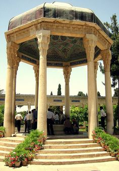 Hafezieh, Shiraz, Iran (tomb of the famous poet, Hafez)