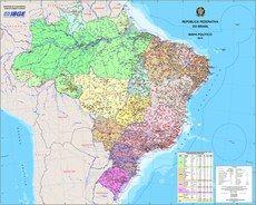 Esse mapa é referência para geração de outros mapas em diversas publicações do IBGE