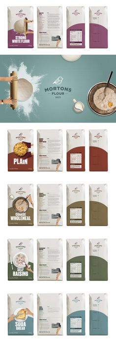 Rediscover The Joy of Baking With Mortons Flour — The Dieline   Packaging & Branding Design & Innovation News