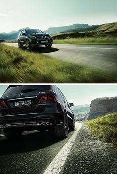 The highlights of the Mercedes-Benz GLE 400 4MATIC include outstanding safety and a high level of driving dynamics. [Combined fuel consumption: 8.7–8.5 l/100km | combined CO₂ emissions: 204–197 g/km | http://mb4.me/efficiency_statement]