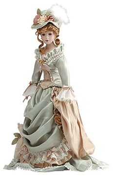 "Anastasia Porcelain Dolls | 30675 22"" Porcelain Doll - Celeste"