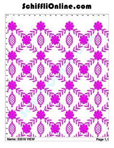 Buy Schiffli Embroidery Bundle,Book 96 - ALLOVER 8/4 Online at Best Price | SchiffliOnline.com Textile Patterns, Quilt Patterns, Textiles, Data Sheets, Hand Embroidery Designs, Line Drawing, Stencils, Merry, Quilts