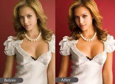 do photo retouching on a professional level by perlparadise