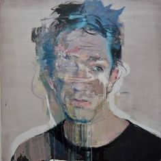 "Saatchi Art Artist christos tsimaris; Painting, ""a film star"" #art"