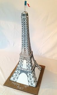Rachel Warner Cakes: Eiffel Tower Cake