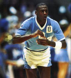 Michael Jordan at UNC