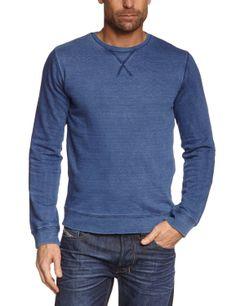 €40 JACK & JONES VINTAGE Herren Sweatshirt Regular Fit 12071255 INDIGO ANDRE C N SWEAT: Amazon.de: Bekleidung