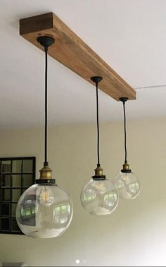 Your place to buy and sell all things handmade Modern and Rustic beam light farmhouse chandelier LIGHT BULBS Farmhouse Chandelier Lighting, Dining Room Lighting, Home Lighting, Modern Lighting, Lighting Design, Club Lighting, Rustic Lighting, Kitchen Lighting, Edison Bulb Chandelier