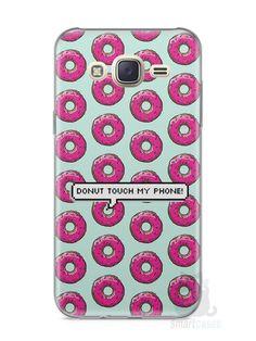 Capa Capinha Samsung J7 Donut Touch My Phone - SmartCases - Acessórios para celulares e tablets :)