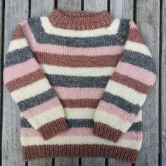Image of Brormand Sweater Str. 1 til 10 År Boys Knitting Patterns Free, Baby Cardigan Knitting Pattern Free, Baby Sweater Patterns, Crochet Baby Cardigan, Baby Clothes Patterns, Knitting For Kids, Punto Fair Isle, Toddler Sweater, Knitted Baby Clothes