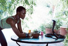 Lupita Nyong'o shooting full ' o for Vogue in Marrakech