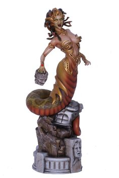 Fantasy Figure Gallery Greek Mythology Collection Statue 16 Medusa (Wei Ho) 37 cm