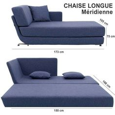 Convertible Chaise Longue