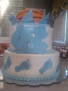Tar Heel Cake Decorations