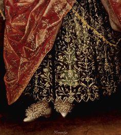 British School 17th century   Portrait of a Lady, Called Elizabeth, Lady Tanfield 1615 Tate Britain