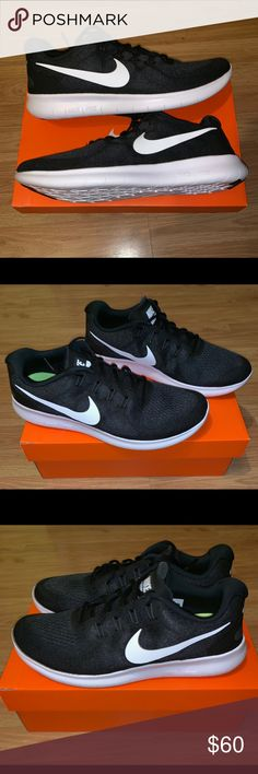 promo code cf06b a5265 Men s Nike Free Run RN •Men s Size  10.5 •Black   White   Grey •Running  Sneakers •SKU  880839-001 •Retail   100.00 •Fast Shipping Nike Shoes  Sneakers
