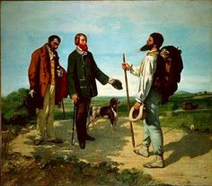 Buenos días Señor Courbet,  Gustave Courbet