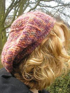 Ravelry: Heather beret pattern by Pauline Fitzpatrick