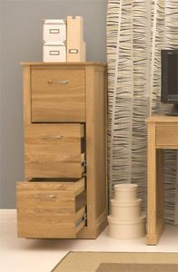 Baumhaus-MOBEL-Solid-Oak-Home-Office-Three-Drawer-Filing-Cabinet-SECOND-COR07D