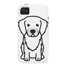 Tibetan Spaniel Dog Cartoon Case-Mate iPhone 4 Case