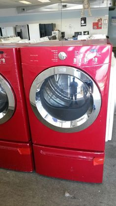 New to me washer and dryer