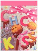 Crux Choco Kiss Mini Memo Pad
