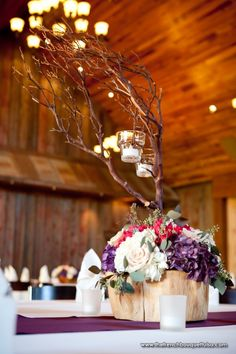 manzanita branches floral design centerpiece - Google Search